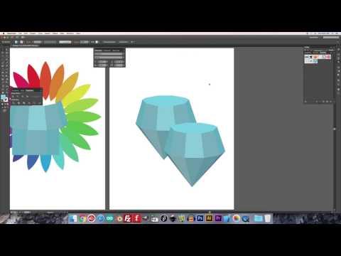 Adobe Illustrator: Make a Diamond Shape