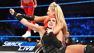Charlotte Flair & Becky Lynch vs. Natalya & Carmella: SmackDown LIVE, May 23, 2017