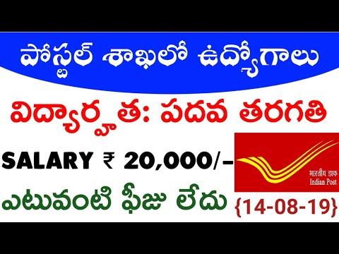 Xxx Mp4 Postal Job Notification Latest Jobs 2019 Govt Jobs Information Telugu Job Alerts Job News 3gp Sex