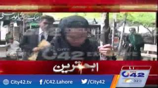 Motor cycle using in crime Khadija Siddiqui presented in court