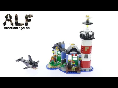 Lego Creator 31051 Lighthouse Point Model 1of3 - Lego Speed Build Review
