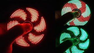 Download V2 - Assembling LED HAND SPINNER, FIDGET TOY Video