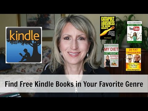 How to Find FREE KINDLE BOOKS on AMAZON in YOUR FAVORITE GENRE