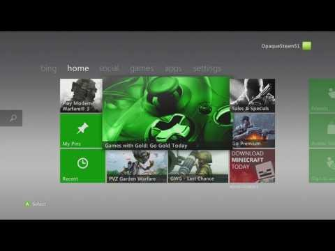 How to Download, ReDownload Purchased Games on XBox Live Tutorial