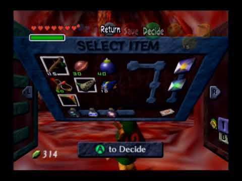 Ocarina of Time Only   Jabu Jabu's Belly   Part 9