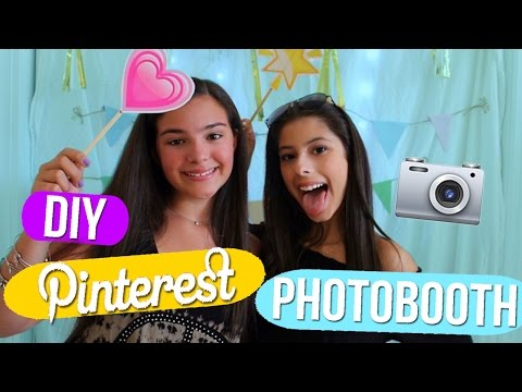 DIY PINTEREST INSPIRED PHOTOBOOTH!!