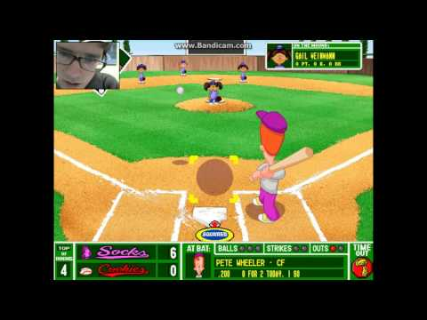 Let's Play: Backyard Baseball - Part 17 | This Game is Weird