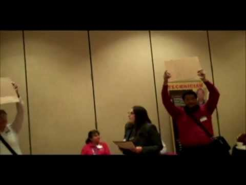GetEQUAL TX confronts Corrections Corporations of America