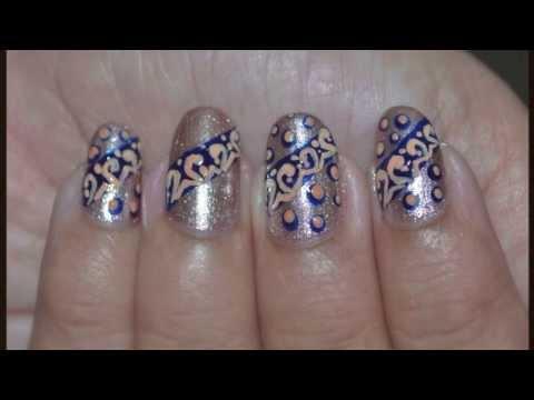 Nail Art Tutorial ~ Easy lace and Polka Dots
