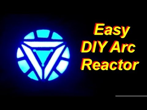 DIY Cheap and Easy Iron Man Arc Reactor that Really Glows