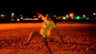 Big Steppin In Corpus Christi Beach(: