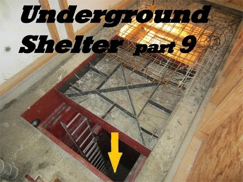 UNDERGROUND shelter, How to build an underground Bunker!!! #9