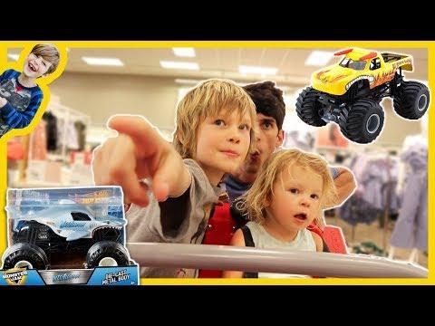 Monster Trucks Go Toy Shopping
