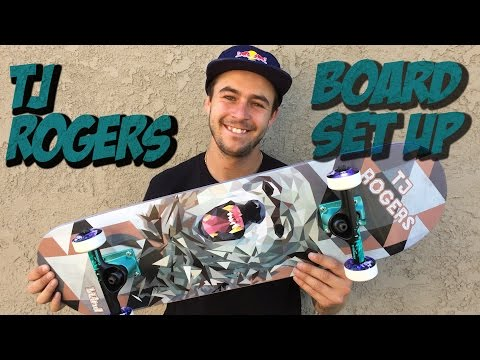 TJ ROGERS BOARD SET UP & INTERVIEW