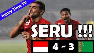 Indonesia 4-3 Turkmenistan | All Goals & Highlights | 2014 FIFA World Cup Qualification