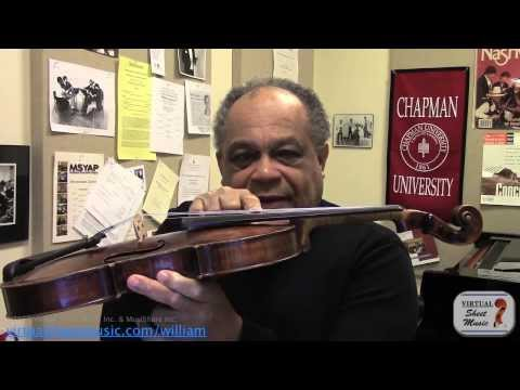 How to play Natural and Fingered Harmonics on the violin - Sibelius Violin Concerto