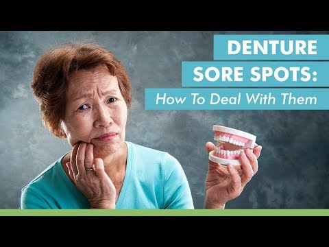 Denture Sore Spots: How To Deal With Them