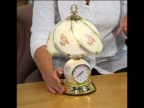 Innovations Touch Lamp with Clock