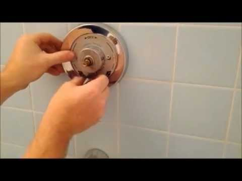 How To Replace A Symmons Shower/ Tub Spindle And Diverter
