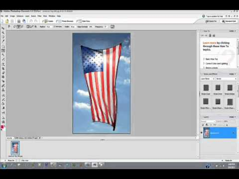 How to Convert Part of a Picture to Black and White with Photoshop Elements  GoldenYearsGeek com