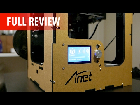 Anet A3 - BEST CHEAP Fully Assembled 3D Printer (2017) - Full Review!