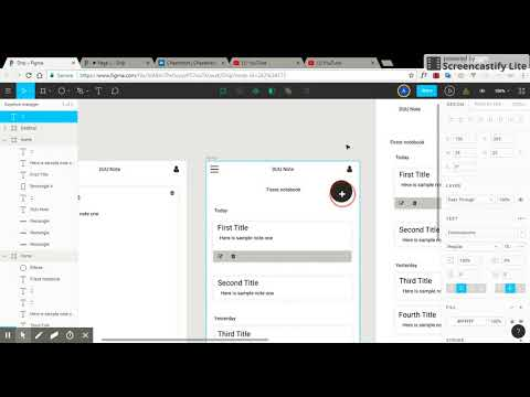 Creating an android app using basic html css and Javascript [ designign part 2]