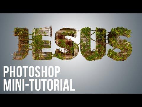 Photoshop Mini-Tutorial: Creative Word Art
