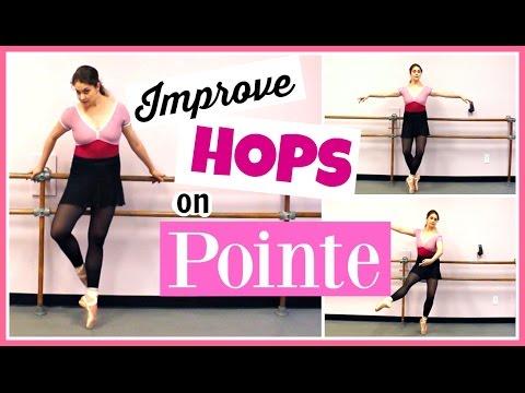 Improving Hops on Pointe | Kathryn Morgan
