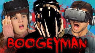 Download BOOGEYMAN - OCULUS HORROR GAME (Teens React: Gaming) Video