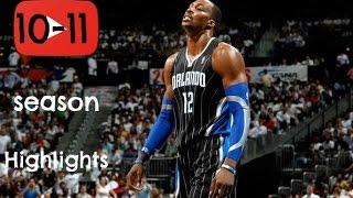 Dwight Howard 2010-2011 Season Highlights - Beast!