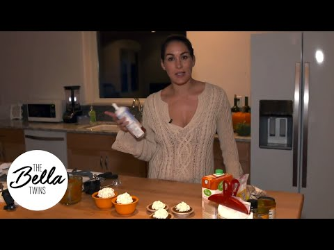 CHEF BRIE is back with a yummy Halloween snack, MINI PUMPKIN PIES!