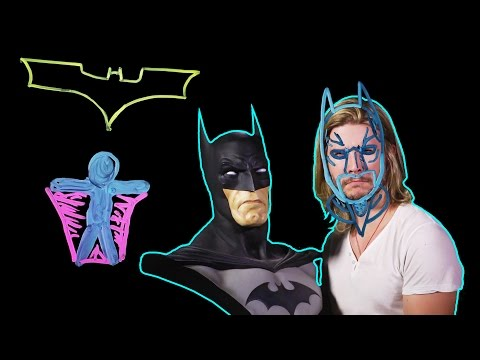 How Does BATMAN'S Cape Glide? (Because Science w/ Kyle Hill)