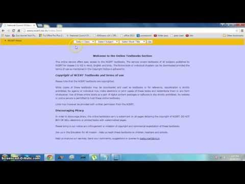 how to download ncert books or free