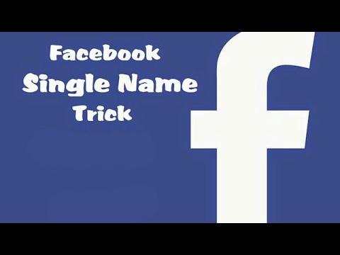 How to hide last name in Facebook