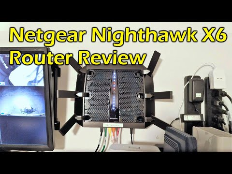 Home Router Upgrade - Netgear Nighthawk X6 AC3000