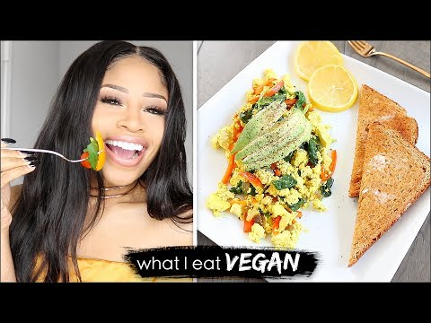 HELLA BOMB VEGAN FOOD!  ➟  What I Eat In A Day 👍