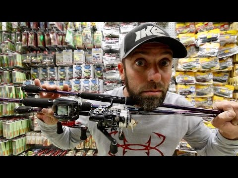Mike Iaconelli's Bass Fishing Rod & Reel Arsenal!