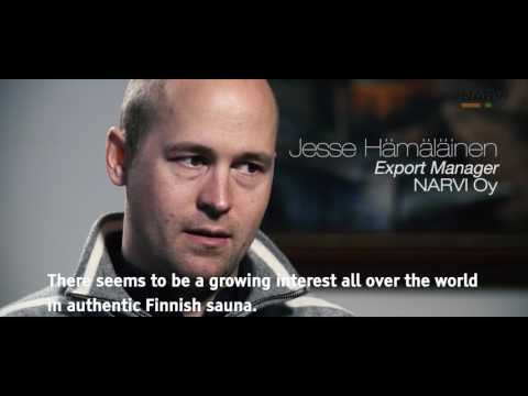 The secret of authentic Finnish Sauna product by Narvi