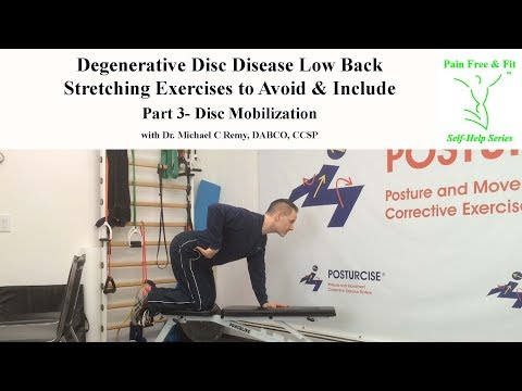 Degenerative Disc Disease Exercises to Avoid and Include- Stretches Part 3