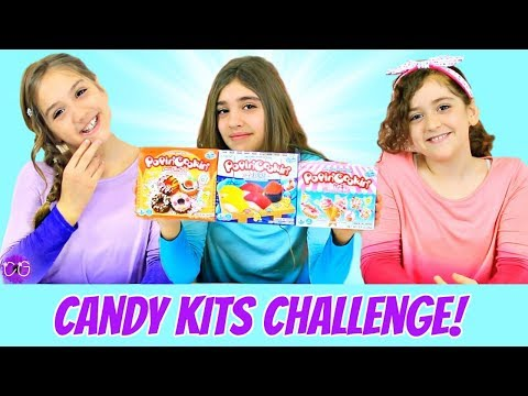 Candy Assembly Challenge!  Popin' Cookin' Candy Kits!