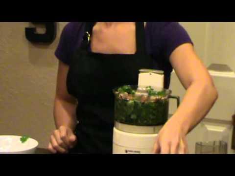 Salmon with Cilantro Pesto (Gluten Free TV Recipes)