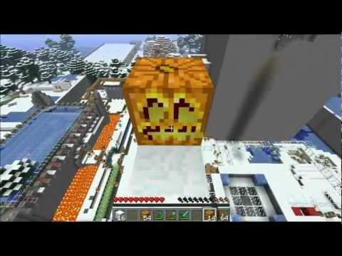 Minecraft: Snow Golem Mass Production