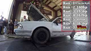 Buick Century Catches Fire on Dyno
