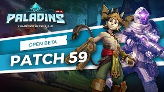 Paladins - Open Beta 59 Patch Overview