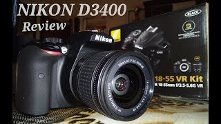 NIKON D3400 DSLR UNBOXING