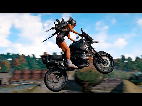 ¡NOS RUSHEA UNA MOTO Y SE ESTAMPA CONTRA EL COCHE! PLAYERUNKNOWN'S BATTLEGROUNDS GAMEPLAY ESPAÑOL