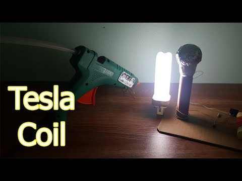 How to make a Mini TESLA COIL - Simple DIY