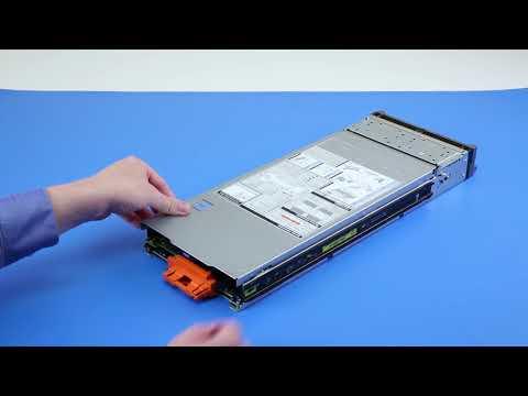 Dell EMC PowerEdge M640: Remove/Install Top Cover