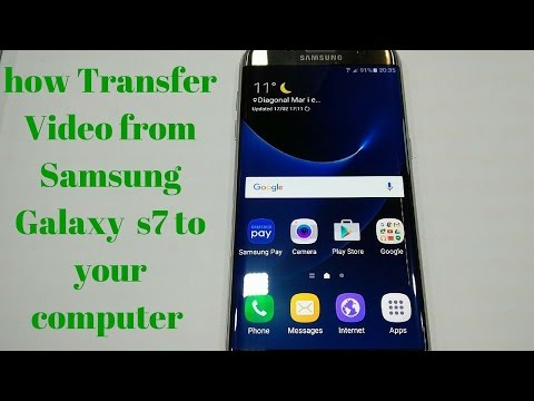 EASY WAY TO Transfer Video from Samsung Galaxy S7 To your computer