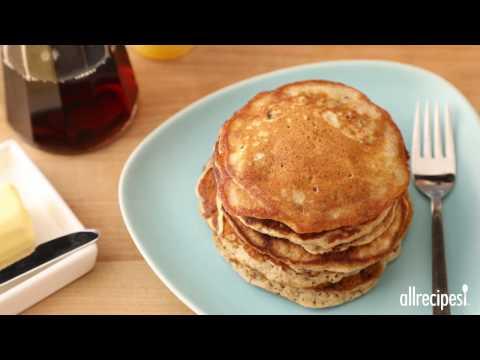 How to Make Easy Banana Nut Pancakes | Pancake Recipes | Allrecipes.com